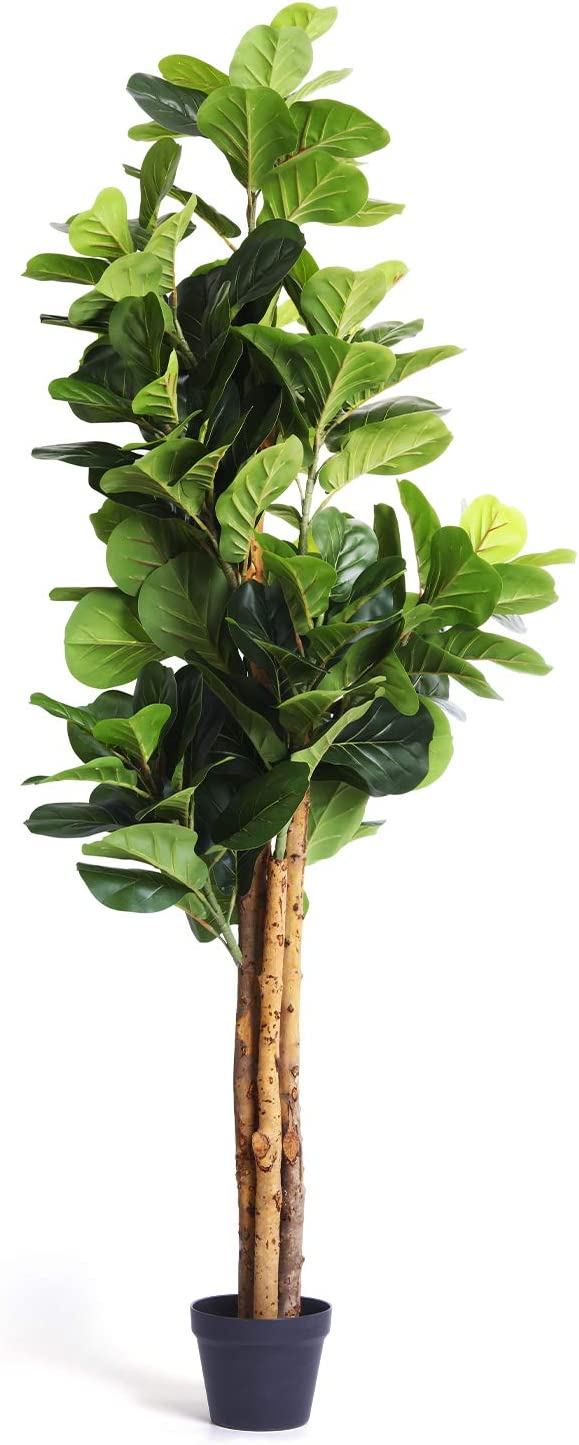 Homelux Theory Fiddle Manufacturer OFFicial shop Leaf Fig Tre Tree Artificial Import Plant Decor