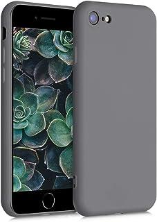 kwmobile telefoonhoesje compatibel met Apple iPhone 7/8 / SE (2020) - Hoesje voor smartphone - Back cover in titaniumgrijs