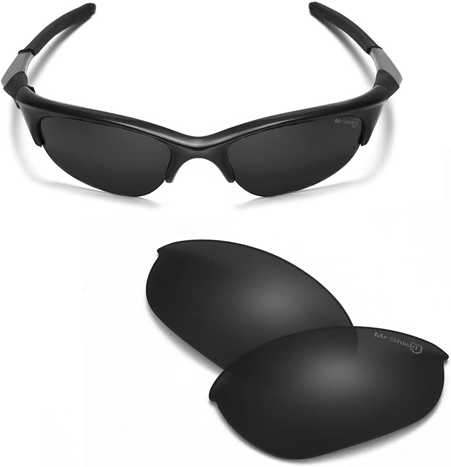 Walleva Replacement Lenses Or Max 75% OFF Rubber Half for Jacksonville Mall Jack Oakley