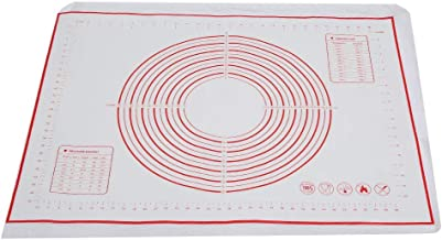 60x80cm Silicone Baking Mat with Measurements,Non-Stick Rolling Pastry Mat Baking Mat for Pizza Fondant Dough Cookies Cake...