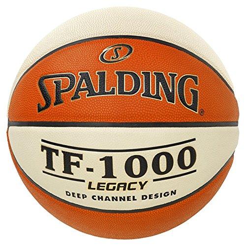 Spalding Unisex-Adult 3001512010517_7 Basketball, orange,White, 7