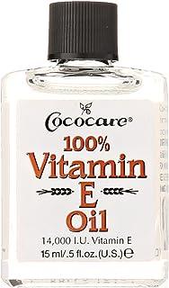 Cococare Vitamin E Oil. 14000 LU. 0.5 Fluid Ounce