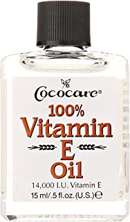 Cococare Vitamin E Oil, 14000 LU, 0.5 Fluid Ounce