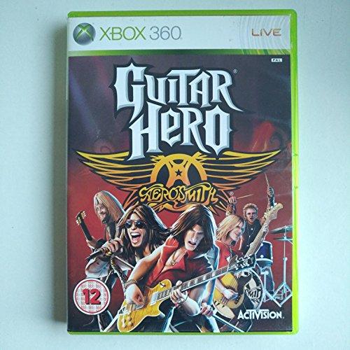 Guitar Hero Aerosmith gioco solo (Xbox 360) Regno Unito Import