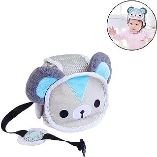Easylifee ベビー室内用ヘルメット 綿100% スポンジヘルメット 赤ちゃんヘルメット 頭部保護 衝撃吸収 ケガ防止 6ヶ月~24ヶ月適用