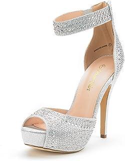 712acec34c2bca DREAM PAIRS Women s Swan High Heel Plaform Dress Pump Shoes