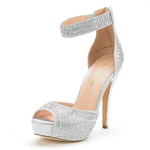 02e129d74 DREAM PAIRS Women s Swan High Heel Plaform Dress Pump Shoes