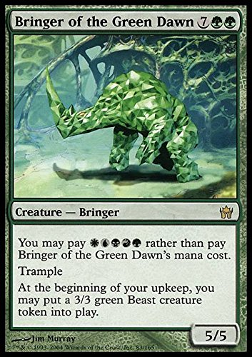 Magic: the Gathering - Bringer of The Green Dawn - Fifth Dawn