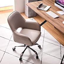JXYu - Swivel Chairs Office Chair, Ergonomic Computer Armchair, Seat with Backrest, 360° Rotation, Height Adjustable