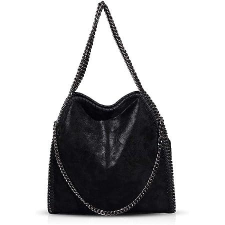 Handtaschen Damen Lederimitat Umhängetasche Designer Taschen Hobo Taschen groß Mit Quasten Schultertasche Damen lederhandtasche Damen Black