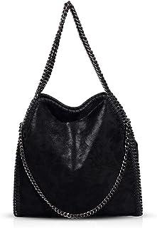 Handtaschen Damen Lederimitat Umhängetasche Designer Taschen Hobo Taschen groß Mit Quasten Schultertasche Damen lederhandt...