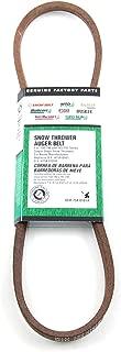 MTD Genuine Parts Snow Thrower Auger Belt - Single Stage