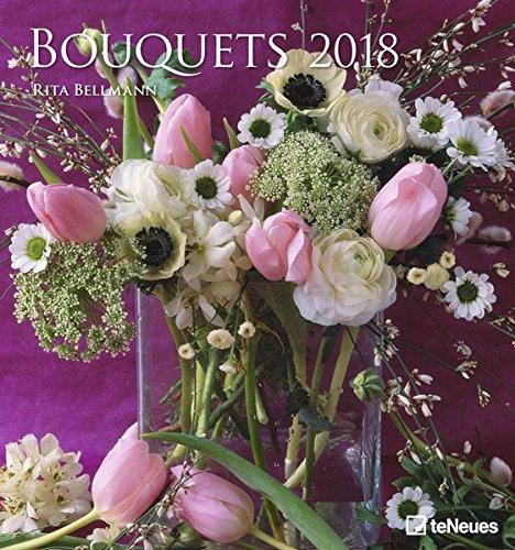 Bouquets 2018: teNeues Wandkalender von Rita Bellmann