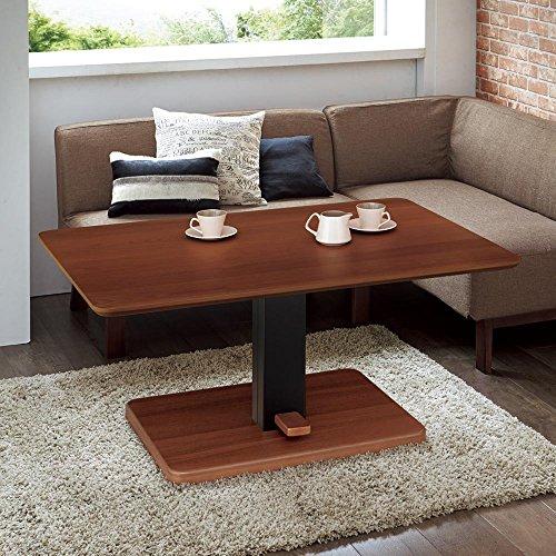 布団がいらないダイニングこたつシリーズ 昇降式こたつテーブル 幅105cm 508001(サイズはありません イ:オーク)