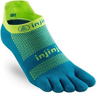 Injinji Run Midweight No Show Xtralife Socks