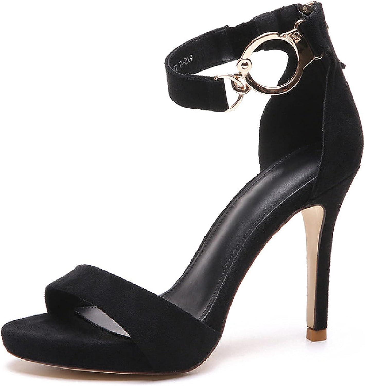 Summer Women's Trendy Stiletto High Non-Slip Open Sandals Popularity Heeled Louisville-Jefferson County Mall