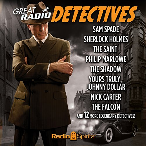 Great Radio Detectives                   By:                                                                                                                                 various writers                               Narrated by:                                                                                                                                 Vincent Price,                                                                                        Bob Bailey,                                                                                        Dick Powell                      Length: 9 hrs and 30 mins     108 ratings     Overall 4.5
