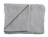 Schardt 15 100 207 Babystrickdecke Sunny, 75 x 100 cm, grau
