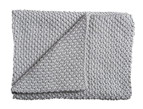 Manta de punto Schardt 15 100 207 para bebé, 75 x 100 cm, gris.