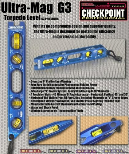 Checkpoint Ultra-mag G3 Torpedo Level Tools....