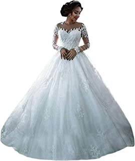 Best plus size white wedding gowns Reviews