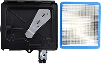 795259 Air Filter Cleaner Primer Base for Briggs & Stratton 795259 224815 691753 792040 496116 for Briggs & Stratton Series Engine 5HP to 6.75HP 128700 121H00 122H00 122T00 Lawn Mower
