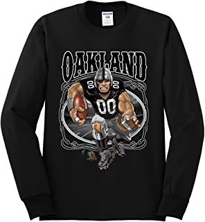 Wild Bobby Oakland Fan | Oak Fantasy Football | Mens Sports Long Sleeve T-Shirt