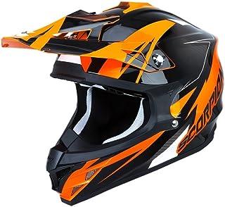 Scorpion Motorradhelm VX-15 Evo Air Krush, Orange, S