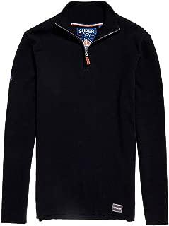 Superdry Men's Metropolitan Northside Henley Sweatshirt, Blue