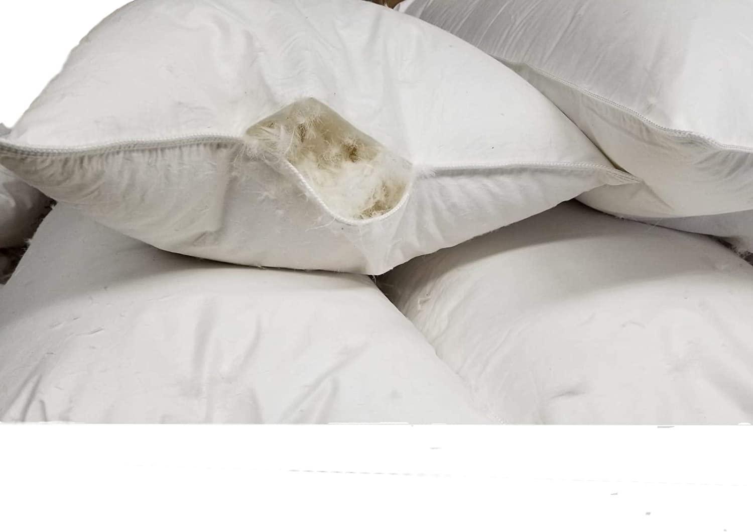 Amazon Com Empty Pillow Shells With No Filling 100 Cotton Pillow Shells Only Can Be Used W Bulk Down Fill Stuffing For Diy Making Own Pillows Standard Queen King Sizes Standard 400tc