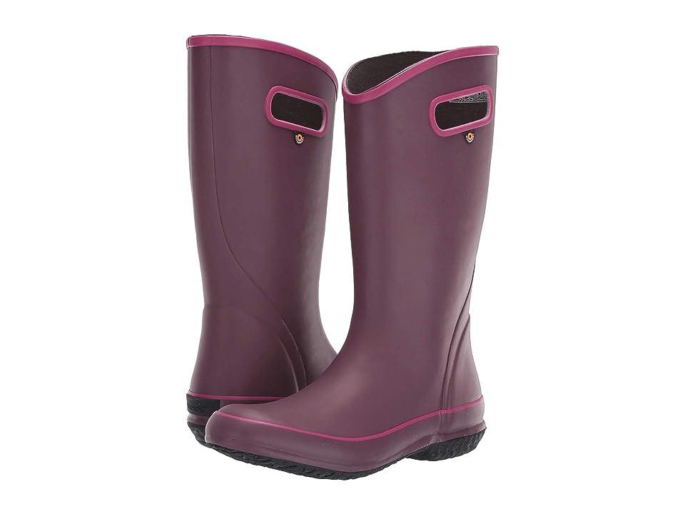 Bogs Solid Rain Boot (Violet) Women