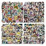 Anime Stickers 200PCS (4 Styles, 50pcs Each Style)