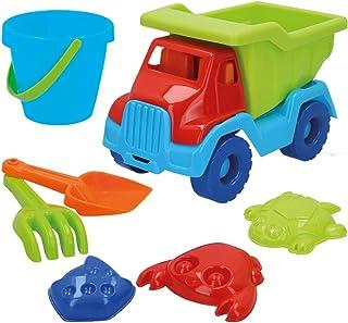 ColorBaby - Set playa Camión y cubo con accesorios, Color