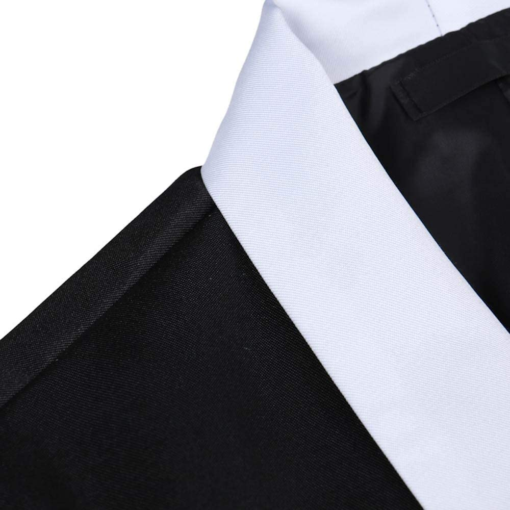 MODOQO Men's Casual Slim Fit Tuxedo Jacket Lightweight Suit for Dinner Party Wedding Prom Blazer