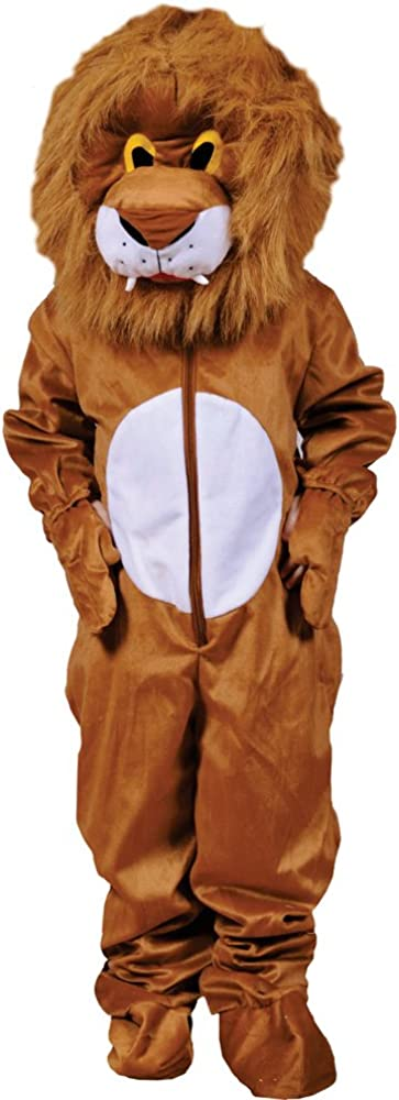 Dress Up America Lion Jacksonville Mall Mascot for - Jacksonville Mall Girls Costume a Kids