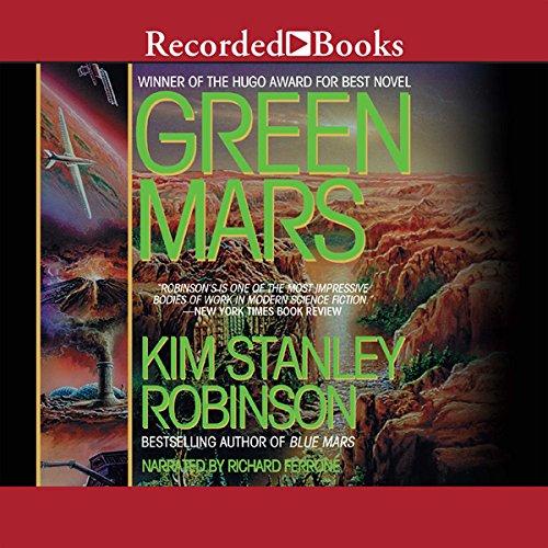 Green Mars audiobook cover art