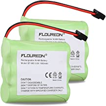 FLOUREON BT-905 BT-800 Panasonic P-P501 P-P508 AT&T 200 24032 Battery 3.6V 1500mAh Replacement Cordless Phone Battery for Again & Again STB-114 GE 25830GE3 Sony BP-T18 Casio BT-905 BBTY066300 …