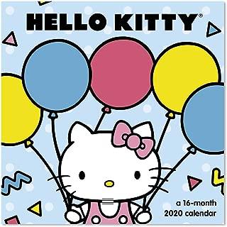 2020 Hello Kitty Wall Calendar, Mini Calendar (DDMN372820)