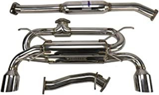 Invidia HS12SST7GM1SS Back Exhaust 12+ Subaru Br-Z/Fr-S Gemini/R400 Single Layer Stainless Steel Tip Cat