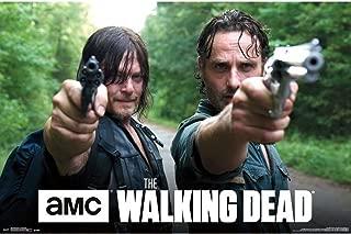 Trends International Walking Dead Double Barrel Wall Poster 22.375