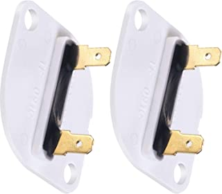 Thermal Fuse Replacement Fit For 3390719 Whirlpool Maytag Kenmore Dryers- Pack of 2 - Works with Whirlpool 3CG2901XSN1, 3CSP2760BN0