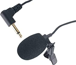 Generic UHF Tour Guide System Replacement Lapel Microphone