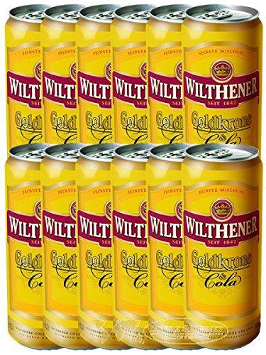 Goldkrone und Cola 12 x 250 ml Dose