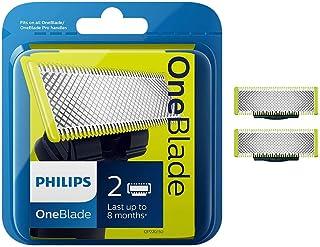 فيليبس شفرة حلاقة للرجال قابلة للاستبدال 2 قطعة , QP220/50