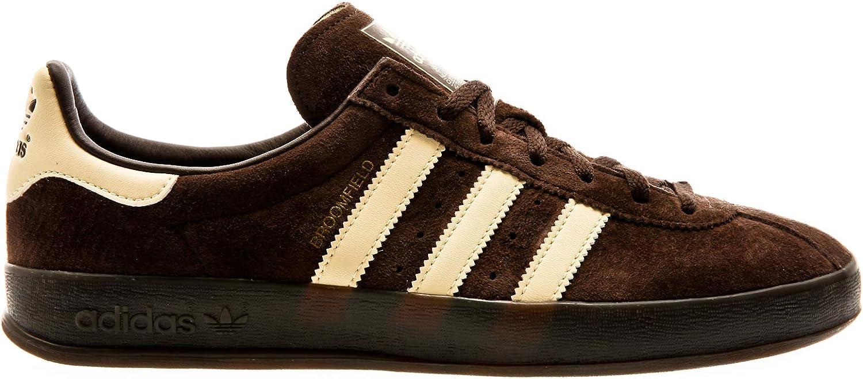 Adidas ORIGINALS Broomfield, Brown-Easy Yellow-Gold Metallic