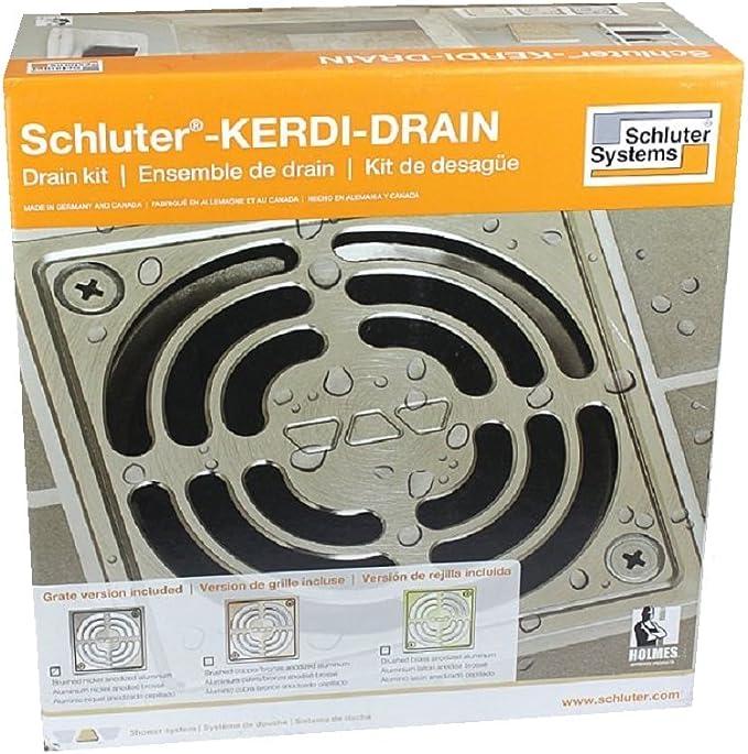 damaged box Clearance-Schluter Kerdi Drain Stainless Steel ABSVersion KD2//ABS//E