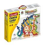 Quercetti- Fanta Color Modular 4 Gioco Creativo con Chiodini, Multicolore, 0880...