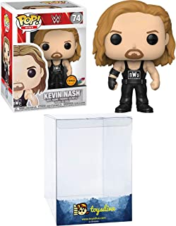 Kevin Nash (Chase): Funko Pop! Vinyl Figure Bundle with 1 Compatible 'ToysDiva' Graphic Protector (074 - 46845 - B)
