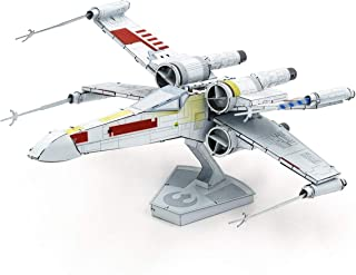 fascinations Metal Earth ICONX Star Wars X-Wing Starfighter Color 3D Metal Model Kit
