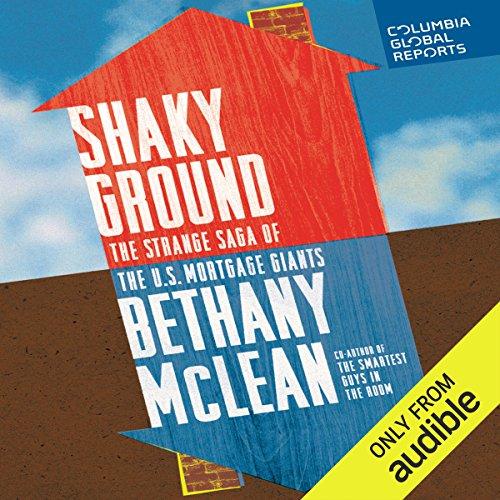 Shaky Ground audiobook cover art